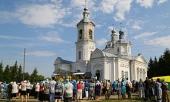 Глава Нижегородской митрополии возглавил торжества по случаю праздника обретения мощей праведного Алексия Бортсурманского