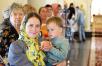 Патриарший визит в Санкт-Петербургскую митрополию. Посещение Успенского храма Выборга