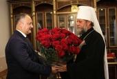 В Кишиневе состоялись торжества по случаю 65-летия со дня рождения митрополита Кишиневского и всея Молдовы Владимира