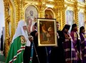 Слово Святейшего Патриарха Кирилла в день памяти прпп. Зосимы, Савватия и Германа Соловецких после Литургии в Соловецком монастыре