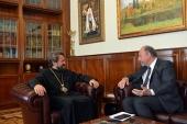 Председатель ОВЦС встретился с послом Аргентины в России