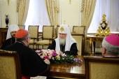 Встреча Святейшего Патриарха Кирилла с Государственным секретарем Святого Престола