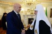 Святейший Патриарх Кирилл встретился с директором ФСИН России и председателем Синодального отдела по тюремному служению