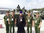 Председатель Синодального отдела по взаимодействию с Вооруженными силами принял участие в церемонии открытия Международного военно-технического форума