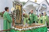 В Святогорской лавре прошли торжества, посвященные 150-летию преставления преподобного Иоанна Затворника