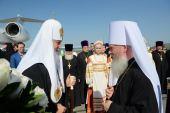 Святейший Патриарх Кирилл прибыл в Курганскую митрополию