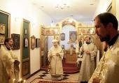 Председатель Синодального отдела по благотворительности освятил храм в московской больнице Центросоюза РФ
