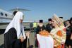 Патриарший визит в Курганскую митрополию. Прибытие в Курган
