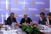 Состоялось третье заседание совместной комиссии Русской Православной Церкви и Министерства здравоохранения РФ