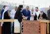 Патриарший визит в Курганскую митрополию. Закладка Троицкого храма в Кургане