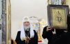 Патриарший визит в Курганскую митрополию. Посещение Богоявленского храма Кургана