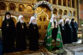 Слово Святейшего Патриарха Кирилла после Литургии в Александро-Невском соборе Кургана