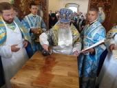 В праздник Успения Пресвятой Богородицы глава Карельской митрополии освятил Успенский храм Сяндемского монастыря