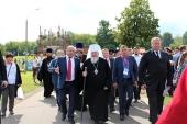 При участии Синодального комитета по взаимодействию с казачеством в столице прошел VII Международный фестиваль «Казачья станица Москва»