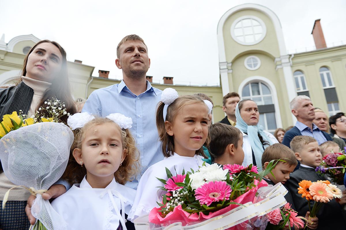 Патриарший визит в Калининградскую епархию. Освящение нового корпуса Православной гимназии Калининграда