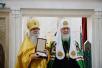 Освящение московского храма Трех святителей в пос. Воскресенское