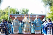 В станице Старочеркасской Ростовской области прошли торжества по случаю праздника Донской иконы Божией Матери