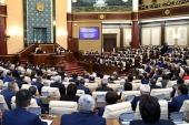 Глава Казахстанского митрополичьего округа принял участие в совместном заседании палат Парламента Республики Казахстан