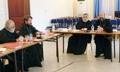 Митрополит Волоколамский Иларион принимает участие в работе Координационного комитета Смешанной комиссии по православно-католическому диалогу