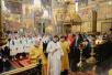 Патриаршее служение в день памяти святителя Московского Петра в Успенском соборе Московского Кремля