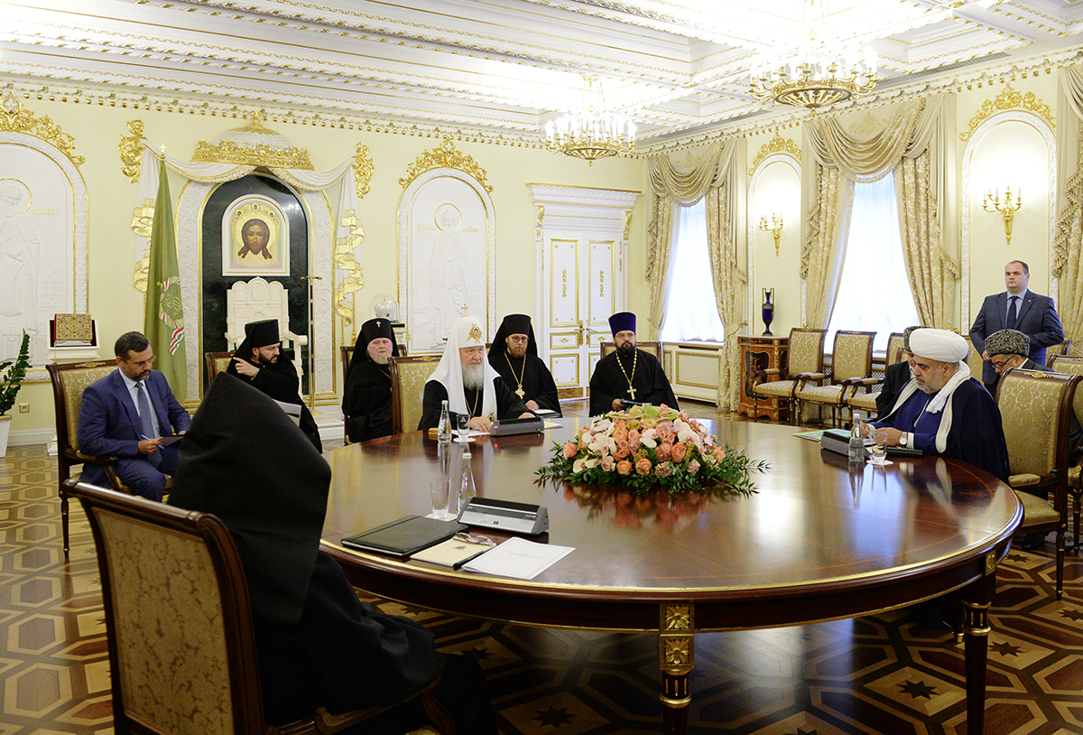 Трехсторонняя встреча духовных лидеров России, Азербайджана и Армении