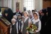 Патриаршее служение в Неделю 14-ю по Пятидесятнице в Покровском Хотькове монастыре