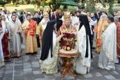 Иерарх Русской Православной Церкви принял участие в освящении кафедрального собора болгарского города Русе