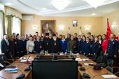 Синодальный комитет по взаимодействию с казачеством провел видеоконференцию, посвященную духовно-нравственному воспитанию казачьей молодежи