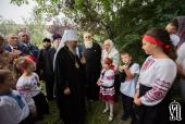 В день памяти Усекновения главы Иоанна Предтечи Блаженнейший митрополит Киевский Онуфрий совершил Литургию в Троицком монастыре в Немирове