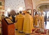 Председатель Синодального отдела по монастырям и монашеству возглавил престольные торжества в Свято-Троицком Александро-Невском ставропигиальном монастыре