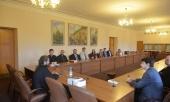 Председатель ОВЦС встретился с участниками Летнего института для клириков и мирян Церкви Англии
