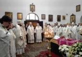Совершены отпевание и погребение почившего архиепископа Берлинского и Германского Феофана