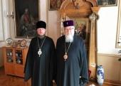 Блаженніший Митрополит Варшавський і всієї Польщі Сава зустрівся з керівником Представництва Української Православної Церкви при міжнародних організаціях