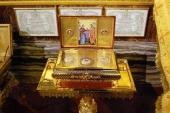 В рамках программы «Духовная связь» Синодального отдела по делам молодежи в епархии Центрального федерального округа будет принесен ковчег с частью Пояса Пресвятой Богородицы