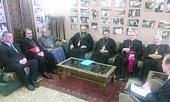 Состоялась встреча митрополита Волоколамского Илариона с иерархами — представителями Ливанских Церквей