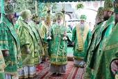Патриарший экзарх всея Беларуси возглавил торжества по случаю дня памяти преподобномученика Афанасия Брестского