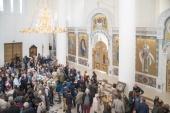 Троицкий кафедральный собор на парижской набережной Бранли стал открытием Дней национального достояния Франции