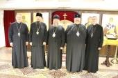 Состоялась встреча главы Митрополичьего округа в Республике Казахстан с Православным ординарием Войска Польского