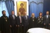 Председатель Синодального отдела по благотворительности и глава Республики Карелия обсудили проекты, связанные с увековечиванием памяти новомучеников