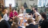 В Санкт-Петербургской духовной академии прошло заседание рабочей группы по апробации регентского стандарта