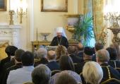 Доклад председателя ОВЦС митрополита Волоколамского Илариона на конференции «Христианское будущее Европы»