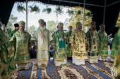 Митрополит Киевский Онуфрий возглавил торжества по случаю празднования 25-летия возрождения Святогорской лавры