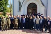 В Николо-Угрешском ставропигиальном монастыре отпраздновали 15-летие освящения храма преподобного Пимена Угрешского