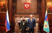 Председатель Отдела внешних церковных связей Московского Патриархата встретился с послом России в Великобритании