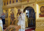 В Международный день глухих епископ Орехово-Зуевский Пантелеимонсовершил Литургию с сурдопереводом