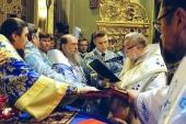 Иерархи Русской Православной Церкви приняли участие в наречении и хиротонии архимандрита Афанасия (Носа) во епископа Лодзинского и Познаньского