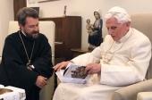 Митрополит Волоколамский Иларион встретился с Почетным Папой Римским Бенедиктом XVI