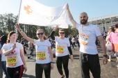 На Московском марафоне собрали более миллиона рублей в пользу службы помощи «Милосердие»