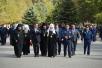 Патриарший визит в Астраханскую митрополию. Посещение мемориала памяти летчиков-испытателей в Ахтубинске