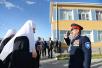 Патриарший визит в Астраханскую митрополию. Посещение Казачьего кадетского корпуса имени атамана И.А. Бирюкова